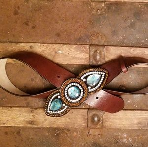Chico's Leather Belt